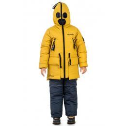 "Куртка з окулярами TRAVELER ""Antman"" Жовта зима"