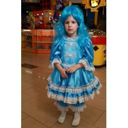 Прокат костюм детский Мальвина