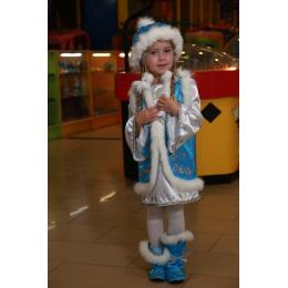 Прокат костюм детский Снегурочка