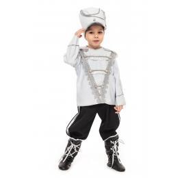 """Прокат костюм дитячий """"Гусар""""(білий)"""