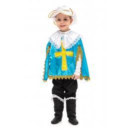 """Прокат костюм дитячий"""" Мушкетер""""(синій)"""